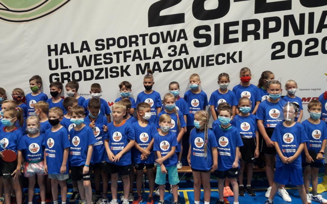 Występ młodych zawodników w PINGLA CUP 2020