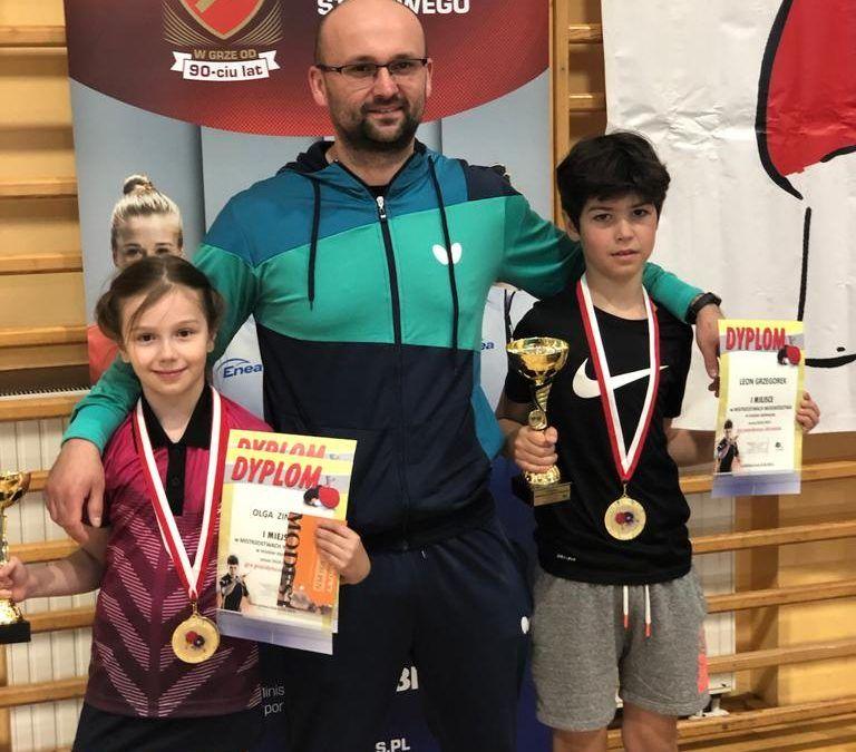 Sukcesy tenisistów na mistrzostwach Województwa.