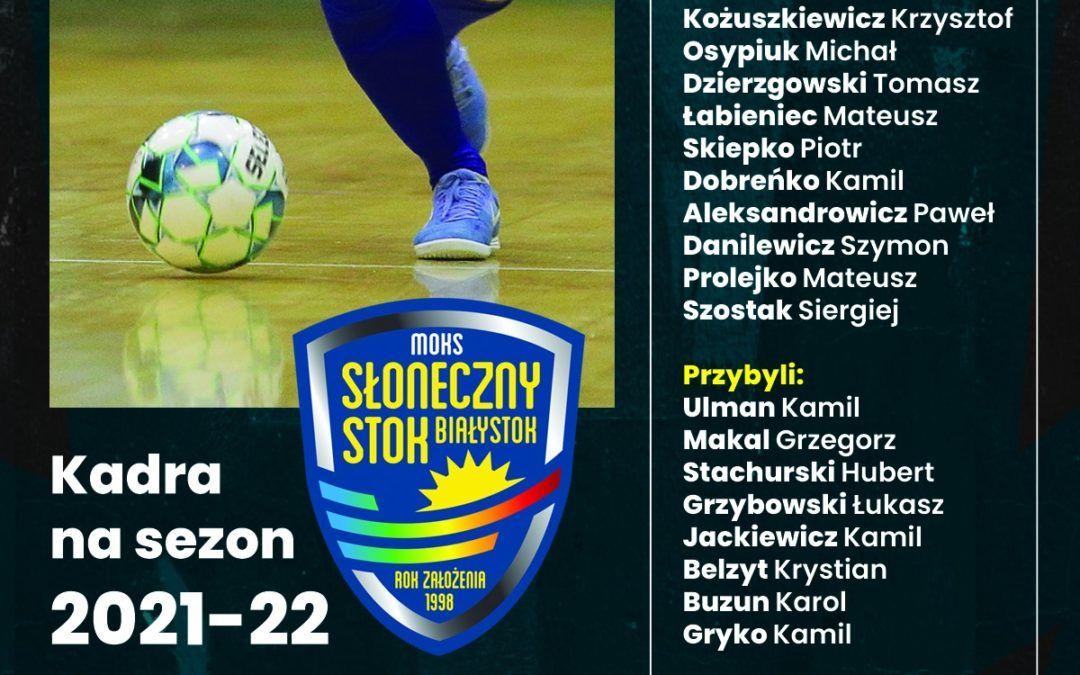 Kadra MOKS na sezon 2020/21