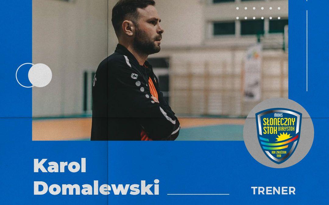 Nowy trener w naszym zespole.